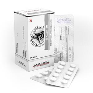 Kaufen Sie Clenbuterolhydrochlorid (Clen): Magnum Clen-40 Preis