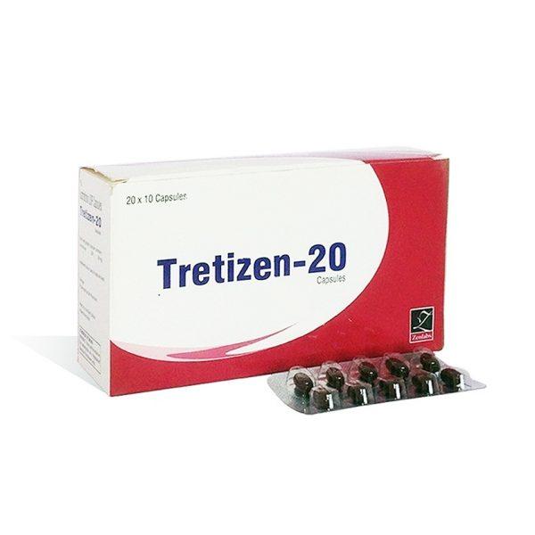 Kaufen Sie Isotretinoin (Accutane): Tretizen 20 Preis