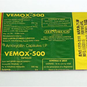 Kaufen Sie Amoxicillin: Vemox 500 Preis